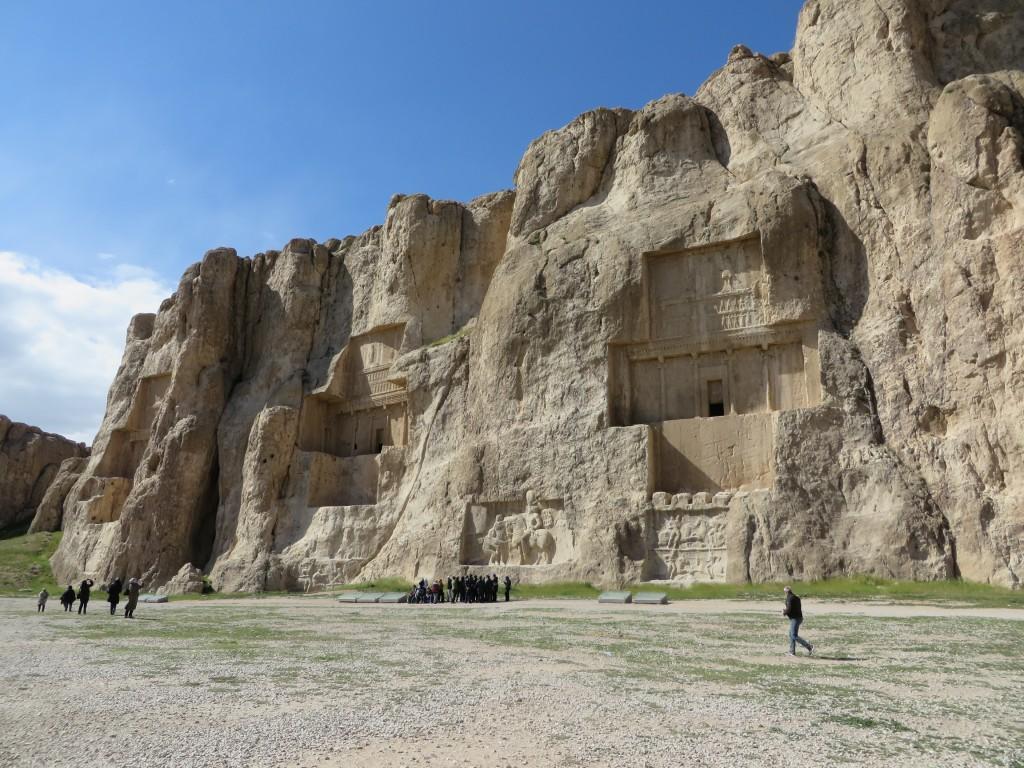 Nahkt-e-Rostam, rotsreliëfs, sassanieden, achaemeniden, iran