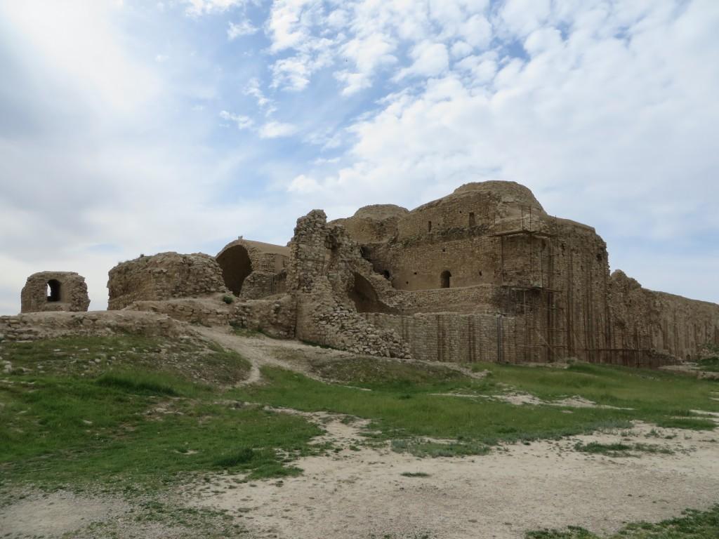 sassanieden, paleis, ardashir, firuzabad