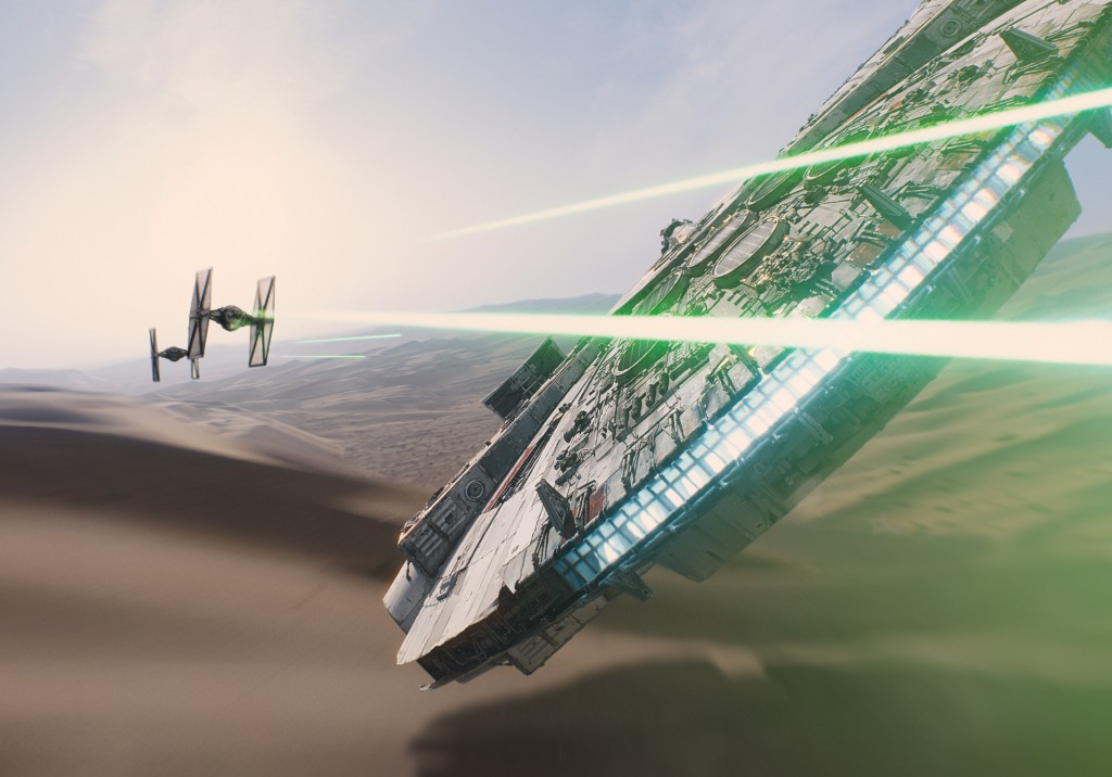 Star Wars, The Force Awakens, Millennium Falcon
